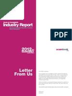 Scam and Complaints Market Report Q1 2012