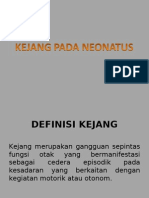 KEJANG PADA NEONATUS