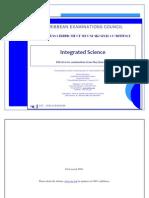 Integrated Science Curriculum