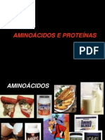 1. AMINOÁCIDOS,  PROTEINAS e ENZIMAS para ENFERMAGEM