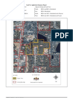 Gates HS Land Use Application Summary Report