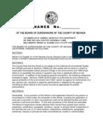 Marijuana Cultivation Ordinance (Regular 5-8-12) BOS Rev