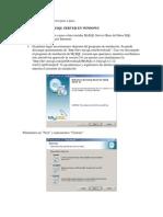 MySQL Server en Windows Paso a Paso