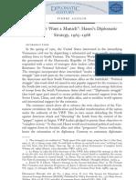 Hanoi Diplo Strategy