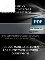 Procedimientos Constructivos Para Puentes Carreteros
