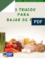 60 Trucos Para Bajar de Peso Sin Hacer Dietas