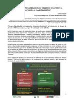Articulación entre la RRD y la ACC en el marco del PACC (2)