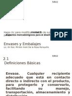 Clase de Envases y Embalajes-2 Unidad