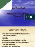 URP Unidad 2 Mtodos de la Psicologia