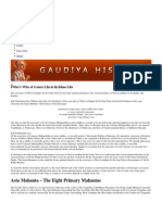 Who's Who of Gaura Lila in Krishna Lila _ Gaudiya History
