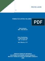 Pembuatan Antena Wajanbolic