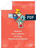 Diretrizes para a Vigilância do Câncer  relacionado ao trabalho.