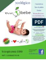 Catalogo de pañales ecológicos Ecobebe Bolivia (Mayo 2012)