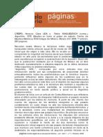 reseña bibliográfica argentina 1976..., por Laura Luciani