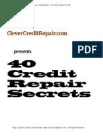 40CreditRepairSecrets