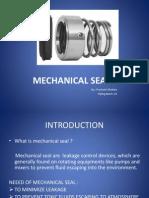 Presentation on Mech Seal by Prashant