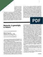 Articulo Refelxion Focuault - Nietzche