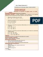 Trabajo Colaborativo 2 2011-2 Ecuaciones Diferenciales