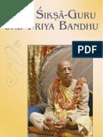 Siksa-Guru Und Priya-Bandhu German