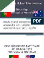 Studi Kasus Hukum Internasional