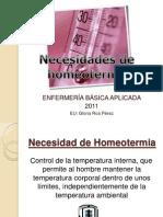 1 Necesidad de Homeotermia