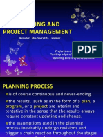 Chapter 7 Planning and Project Management