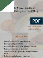 Credit to Micro, Small and Medium Enterprises