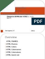 Pengantar WWW Dan HTML Basic IV (4)