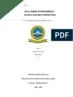 Tugas Akhir Sistem Berkas Hash File Dan Multiring File