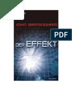 Der Effekt - Birmingham, John