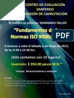 Fundamentos de Las Normas ISO 9000