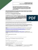 Example_5.0 to 5.1 Upgrade Summary - Unix