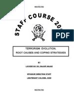 Terrorism It's Root