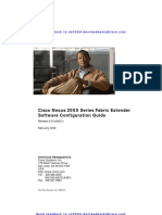 Cisco Nexus 2000 Series Fabric Extender Software Configuration Guide