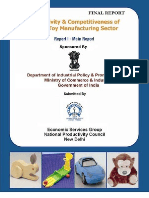 Toy Industry India | Toys | Competitiveness