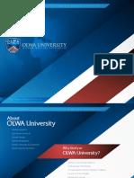 OLWA University – Education to Career