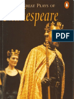 Penguin Readers - Three Great Plays of Shakespeare - Level 4