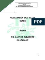 2. Program an Do Bajo MS-DOS