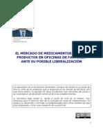 El Mercado de Medicamentos y otros en Farmacia ante su posible liberalización