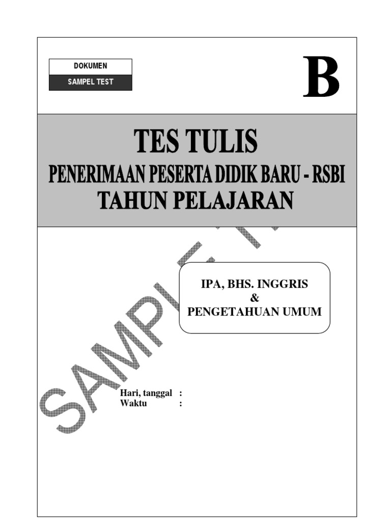 Contoh Soal Psikotes Smp Pdf Download High Powerelegant