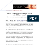 VIPERA Expands Brand Presence Further into GCC and Levant