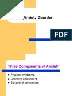 dAnxiety Disorders 1 GAD Phobia Social Phobia Posted
