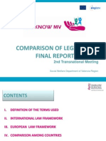 Comparison of Legislation Presentation
