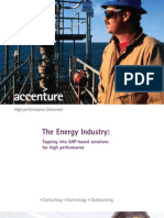 Accenture Energy Industry Tapping SAP Based Solutions