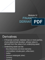 Financial Derivativez