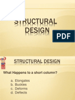Structural Design Review Notes 1
