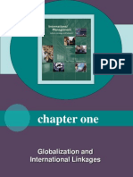 1- Globalization and International Linkages