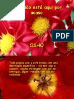 Você não está aqui por acaso (OSHO)