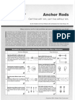 Anchor Rod Guidelines