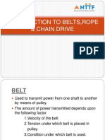 Belt,Rope,Chain Drives